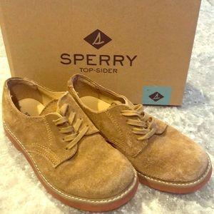 Sperry New Buck Oxfords - size 1 Boys
